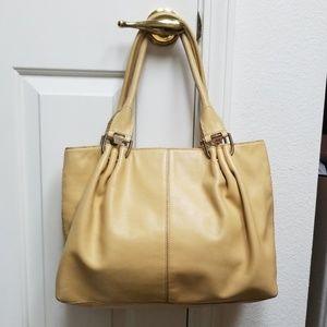 Large leather JONES NEW YORK purse